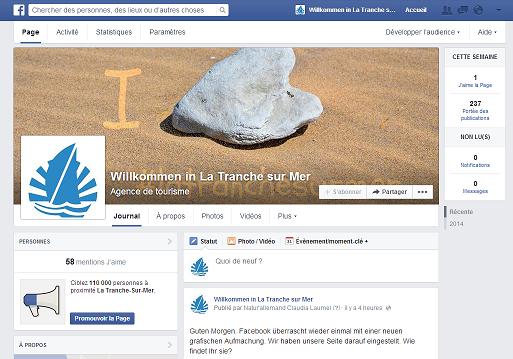 Capture d'écran FB La Tranche 1