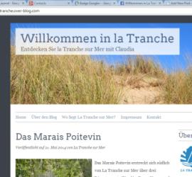 Capture d'écran blog la tranche 2